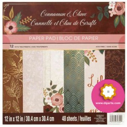"Cinnamon Clove - Recollections - Craft Smith Stack 12""x12"""