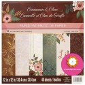 """Cinnamon Clove - Recollections - Craft Smith Stack 12""""x12"""""""