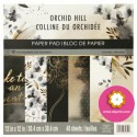 "Orchid Hill - Recollections - Craft Smith Stack 12""x12"""