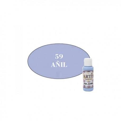 54 Azul Alba - Acrílico Artis 60ml - Dayka