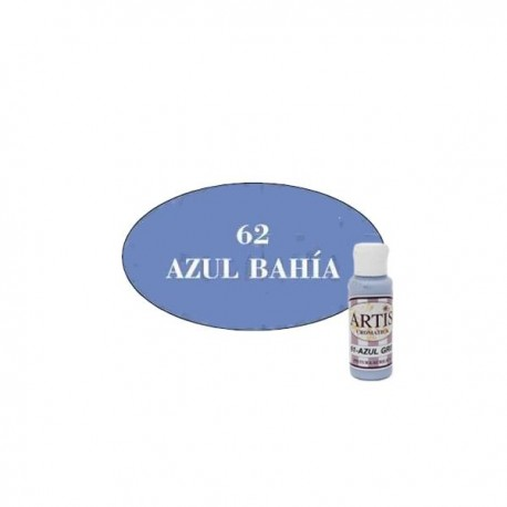 61 Azul Gris - Acrílico Artis 60ml - Dayka