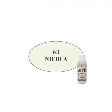 63 Niebla - Acrílico Artis 60ml - Dayka
