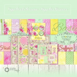 Fresh Summer - Colección y Básicos - Lemon Craft Stack 12x12