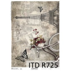 R725 Papel de Arroz - ITD Collection