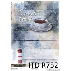 R752 Papel de Arroz - ITD Collection