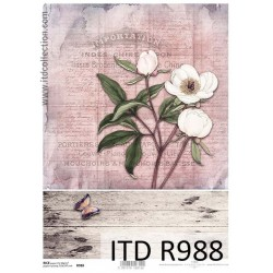 R988 Papel de Arroz - ITD Collection