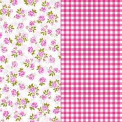 Set Papel Artepach Flores y Vichy - Artemio