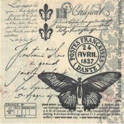 Servilletas Papel Escritura - Paper+Design