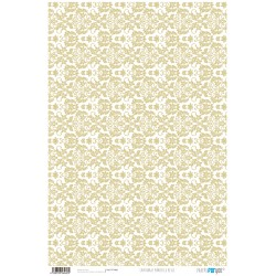 Arabesco Beige - Papel Cartonaje Basics Papers For You