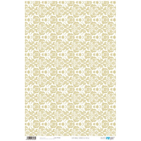 Arabesco Beige - Papel Cartonaje Basics Papers For You