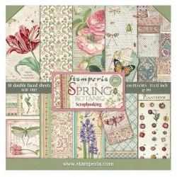 Spring Botanic - Stampería Stack 12x12