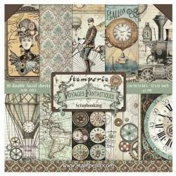 Voyages Fantastiques - Stampería Stack 12x12