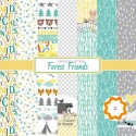 Forest Friends - ScrapBerry's Stack 12x12
