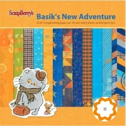 Basik`s New Adventure - ScrapBerry's Stack 12x12