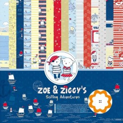 Zoe and Ziggy´s - ScrapBerry's Stack 12x12
