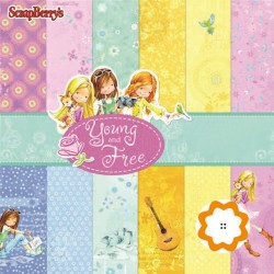 Young and Free - ScrapBerry's Stack 12x12