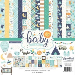 Kit Hello Baby Boy - Echo Park 12x12