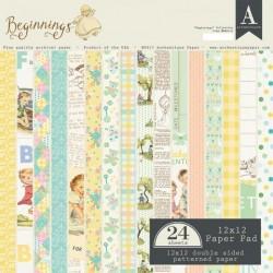 Beginnings - Authentique 12x12