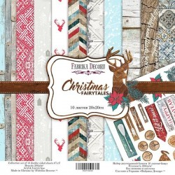"Christmas fairytales - Fabrika Decoru Stack 12""x12"""