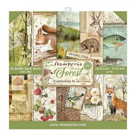 Forest - Stampería Stack 12x12