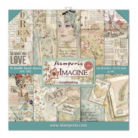 Imagine - Stampería Stack 12x12