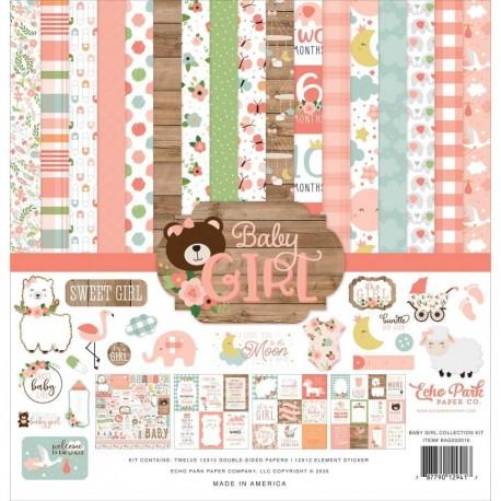 Kit Baby Girl - Echo Park 12x12