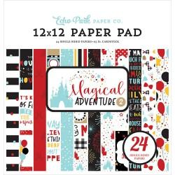 Magical Adventure 2 - Echo Park 12x12 - 24 Papeles