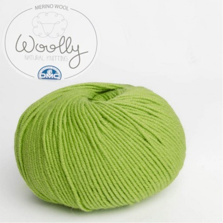 Color 01 blanco - DMC Lanas Woolly