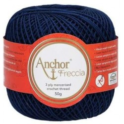 Perlé Freccia Anchor N6 - Color 01006