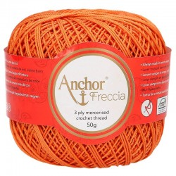 Perlé Freccia Anchor N6 - Color 01003
