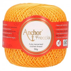 Perlé Freccia Anchor N6 - Color 00302