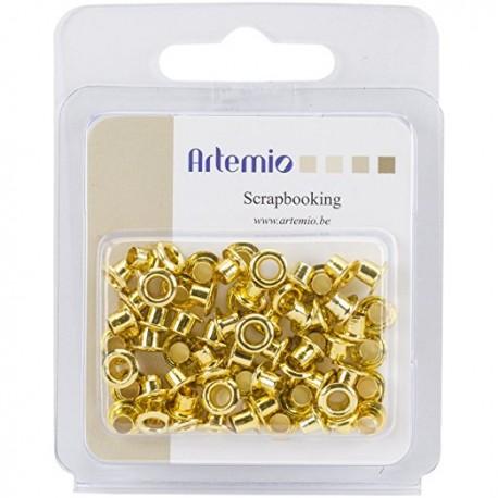 Eyelets Artemio Gold