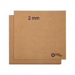 Cartón Kraft - Chipboard - Entrecolado - 2mm