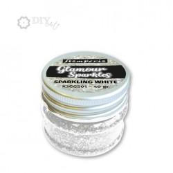 White - Glamour Sparkles - Stampería