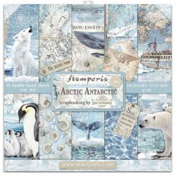 Artic Antarctic - Stampería Stack 12x12