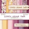 "Little Street Café y Monochromes - Maja Design Stack 12""x12"""