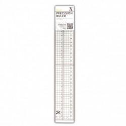 Regla de Precisión 30cm - Metal Edge Inlay- Xcut