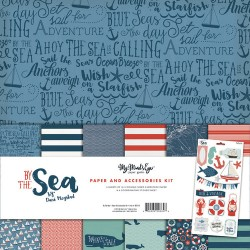 """Kit Colección By The Sea 12"""" - My Mind's Eye"""