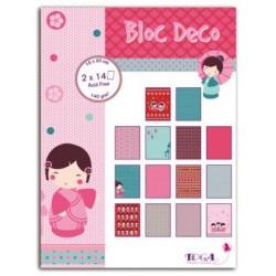 Bloc Deco 15 x 20 cm - Toga