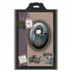 Colección Simply Gorjuss Tweed A4 - Santoro