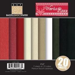 "Nordic Pines 6"" - Bazzill Basics"