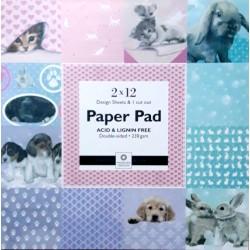 "Paper Pad 12"" - Panduro"