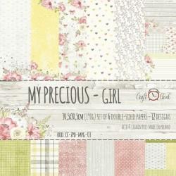 """My Precious Girl 12"""" + EXTRAS - Craft O'clock"""