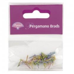 Brads color pastel 3mm - Pergamano