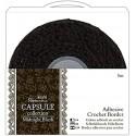 Midnight Blush - Puntilla Adhesiva de Crochet - Capsule Papermanía Docrafts