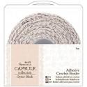 Oyster Blush - Puntilla Adhesiva de Crochet - Capsule Papermanía Docrafts