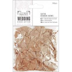 Ever After Wedding - Lazos Raso Oro Antiguo - Capsule Papermanía Docrafts